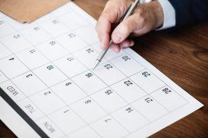 Calendar, Planing