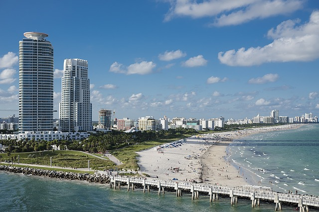 Miami beach is one of top Miami places to explore