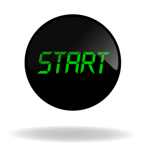 The black start button