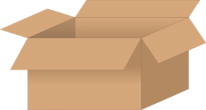 Cardboard box and other supplies can help you pack your bicycle when moving long-distance.