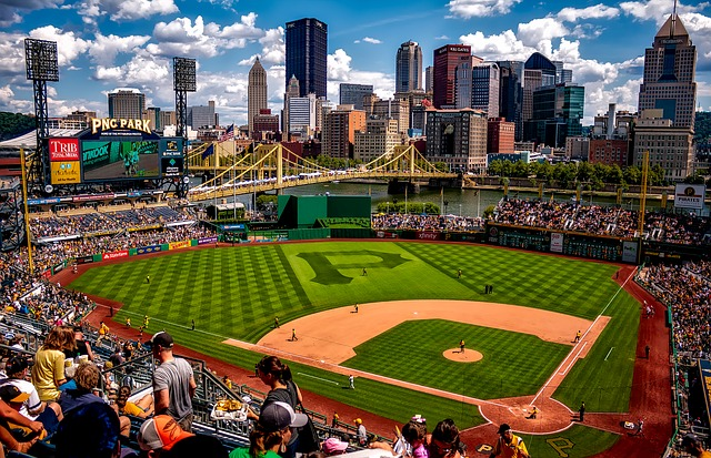 Beautiful PNC Park where you can enjoy after you organize your Pittsburgh relocation properly.