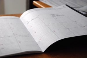 A schedule you need to make when it is necessary to handle a short notice move.