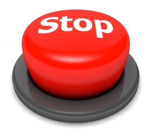 Stop button.