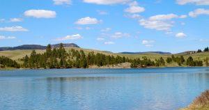 a view of Deerfield Lake