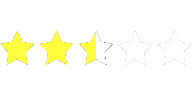 Rating stars - Make sure you know where to find the best rated Mississippi movers.