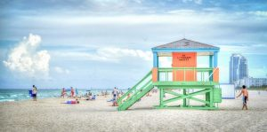 The beach in FL.