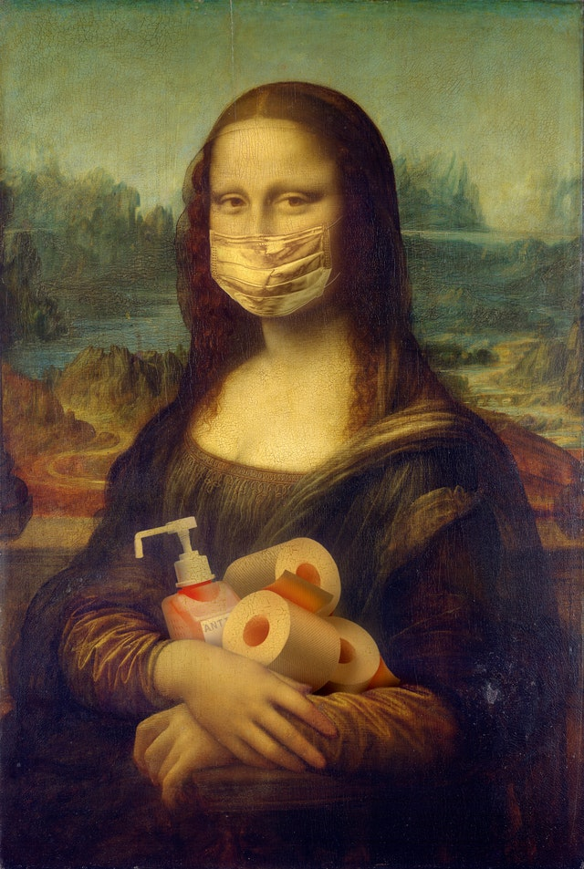 Costs of hiring movers is also the cost of protecting Mona Lisa from Covid-19.