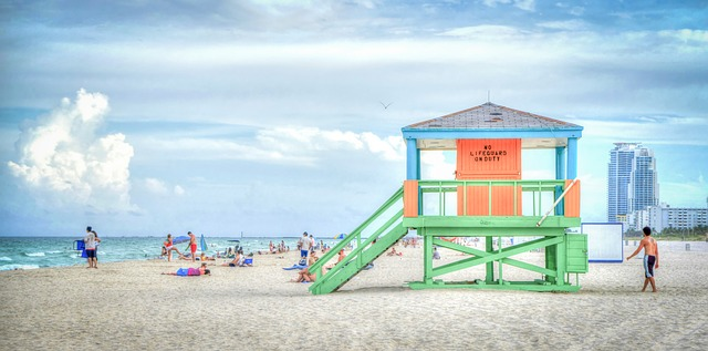 A beautiful beach in Florida is definitely not a reason for people leaving Florida.