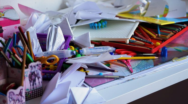 emptied drawers when decluttering your NYC apartment
