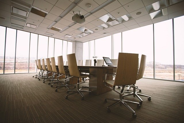 A conference room that may be a great challenge when managing your next office move.