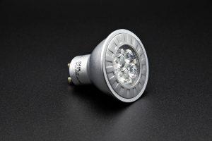 A LED bulb.