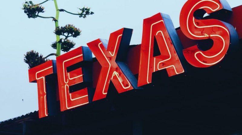 A Texas sign.