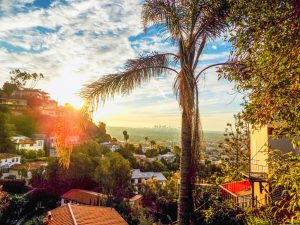 West Hollywood view
