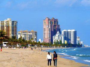 Beach in Fort Lauderdale.
