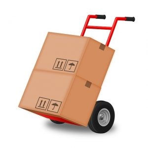 Moving Boxes Hand Truck