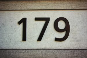 An image of numbers 179