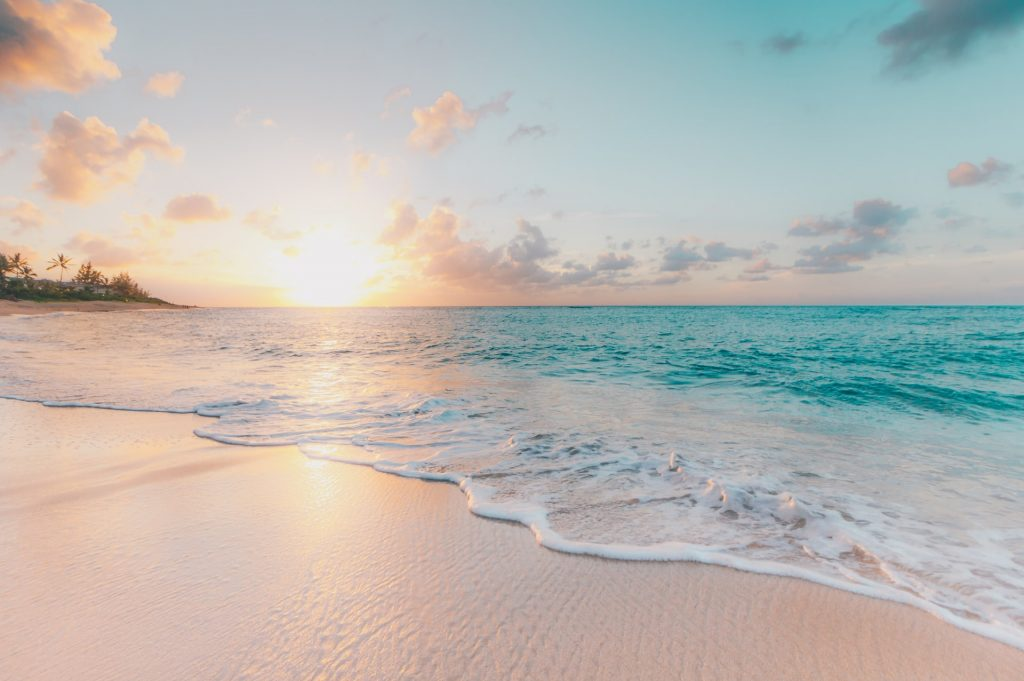 An image of a beach
